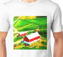 F is for Farmhouse Unisex T-Shirt