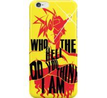 Kamina Style - Gurren Lagann iPhone Case/Skin