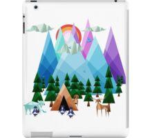 Geometrical Landscape iPad Case/Skin