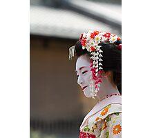 Geiko & Sakura 1 Photographic Print