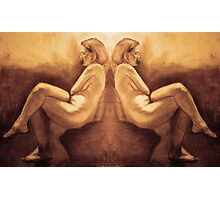 Seated Woman Photographic Print