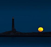 Thacher Island North Tower  by Steve Borichevsky