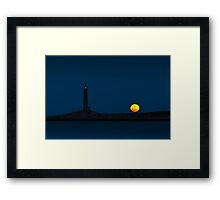 Thacher Island North Tower  Framed Print