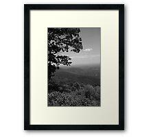 Blue Ridge Mountains - Virginia Framed Print