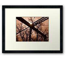 Bright Intersection Framed Print