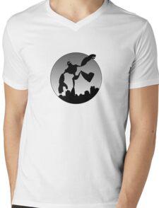 G.A.R Mens V-Neck T-Shirt