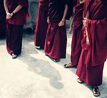 Monks by dcphotos