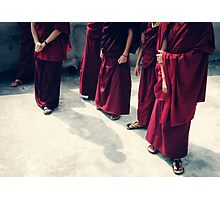 Monks Photographic Print