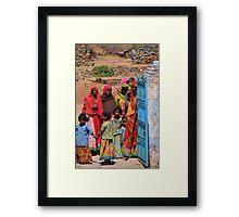 Community Salutations Framed Print