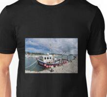 Lyme Regis Harbour  Unisex T-Shirt