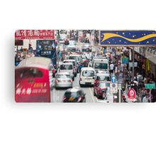Hong Kong street view Canvas Print
