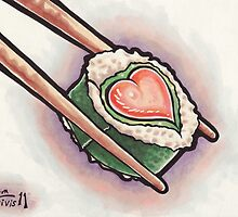 Sushi Love by Erika Harm