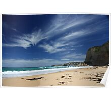 Two Mile Cove, Port Campbell, Victoria Poster
