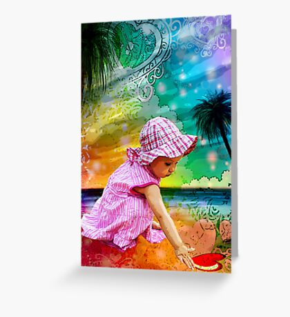FIRST LOVE ~ SUMMER LOVE Greeting Card