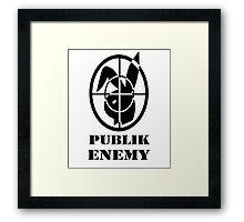 Publik Enemy  Framed Print
