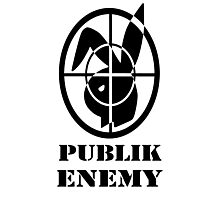 Publik Enemy  Photographic Print