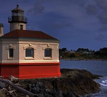 Coquille Lighthouse HDR #2 by LucyAbrao