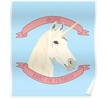 Unicorns Against the Patriarchy Poster