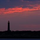 Thacher Island South Tower - Rocport Massachusetts by Steve Borichevsky