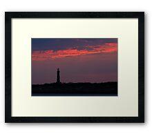 Thacher Island South Tower - Rocport Massachusetts Framed Print