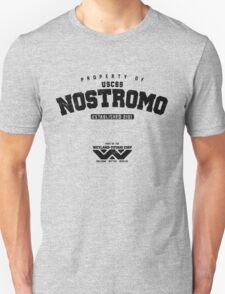 Property of USCSS Nostromo - black T-Shirt
