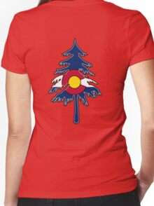 Colorado Forest Women's Fitted V-Neck T-Shirt