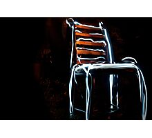 The Real Electric Chair Photographic Print