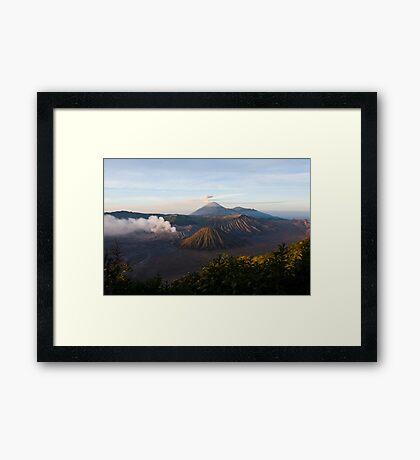 Bromo Tengger Semeru National Park  Framed Print