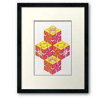 Sun Blocks Framed Print