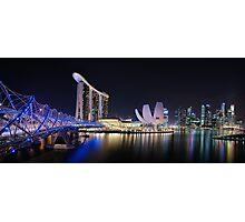 Marina Bay, Singapore Photographic Print