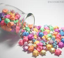 Paper Stars No.1 by rachomini