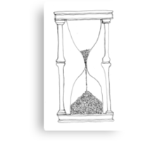 time is running out... Metal Print