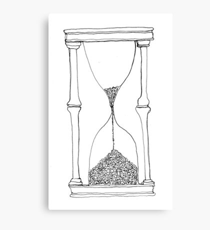 time is running out... Canvas Print