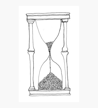 time is running out... Photographic Print
