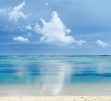 Tranquility - Rarotonga, Cook Islands by Bev Short