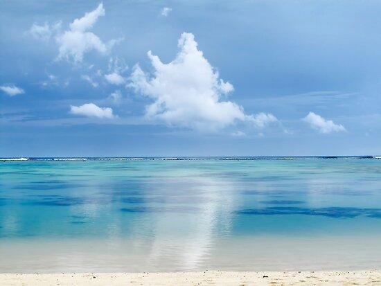 Tranquility - Rarotonga, Cook Islands by Bev Short