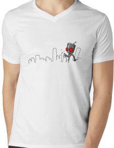 I-Destroy Mens V-Neck T-Shirt