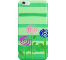 Lollipop Summer Garden iPhone Case/Skin