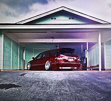 1995 Honda Accord Beast Modes by Justin Saiki