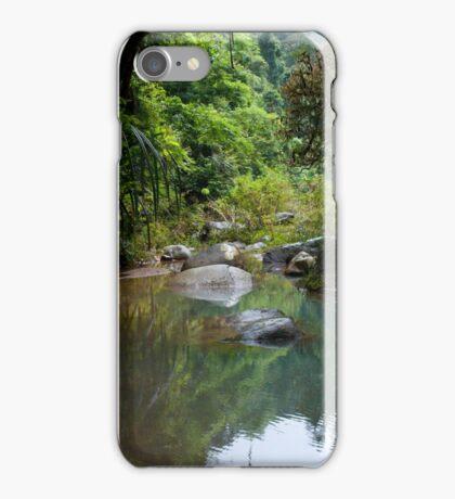 Jungle stepping stones iPhone Case/Skin