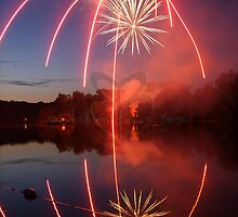 The Red Line Firework by GloKeys
