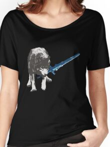 The Great Grey Wolf Sif  Women's Relaxed Fit T-Shirt