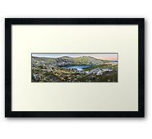 Blue Lake, Kosciusko National Park, Australia  Framed Print