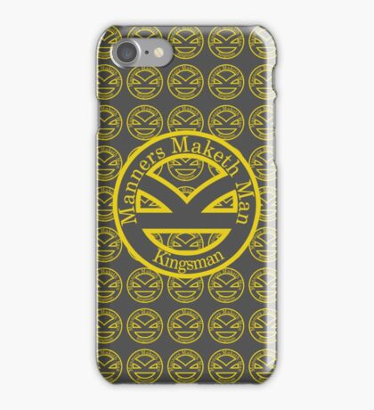 Manners Maketh Man [Kingsman] iPhone Case/Skin