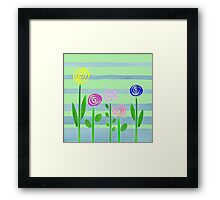 Lollipops In The Garden Framed Print