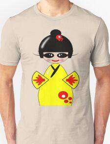 Kokeshi Doll Tee & Sticker Unisex T-Shirt