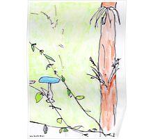 Birdbath Poster