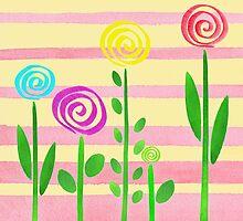 Lollipop Garden by Irina Sztukowski
