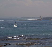 Yacht Entering Port Philip Bay by tallron50