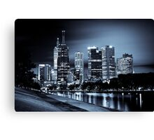 Inner City Blues Canvas Print